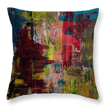 Progression Throw Pillow