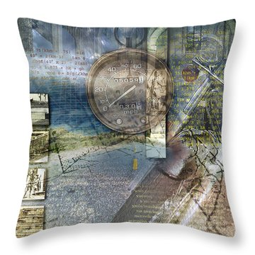 Progressions Throw Pillow