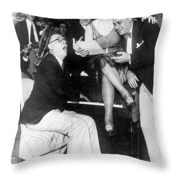 Prohibition: Speakeasy Throw Pillow