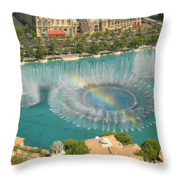 Promise Throw Pillow by Angela J Wright