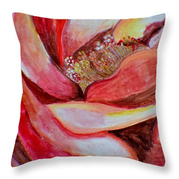 Promise Of Love Throw Pillow