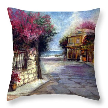 Promised Land Beauty Throw Pillow