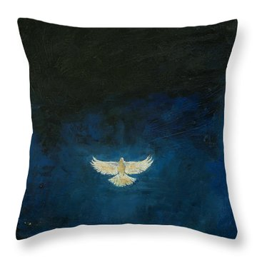 Promised Land Throw Pillow by Michael Creese