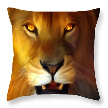 Promised Return Throw Pillow