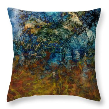 Prophecy Throw Pillow by Christopher Gaston