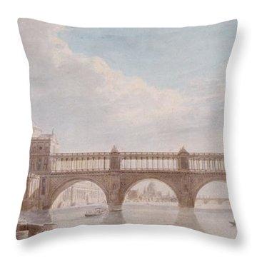 Proposed Design For A Bridge Throw Pillow