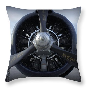 Throw Pillow featuring the photograph Props by Laurie Perry