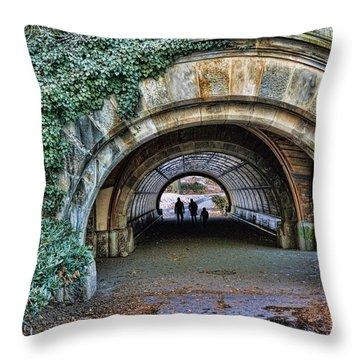 Prospect Park Passage - Brooklyn Throw Pillow