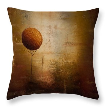Prosperity Throw Pillow by Carmen Guedez