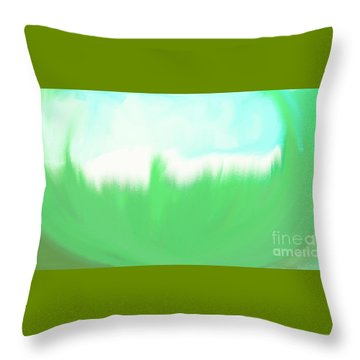 Prosperity Throw Pillow by Shalindi Wijayathunga