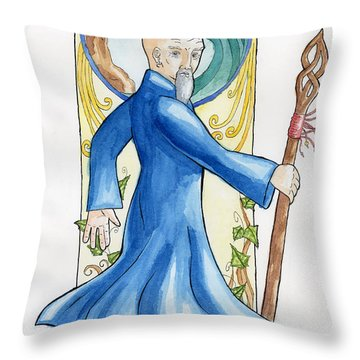 Prospero Throw Pillow by Whitney Morton