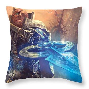 Protect Throw Pillow