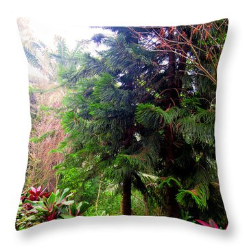 Protect Trees To Love Natural.  Throw Pillow