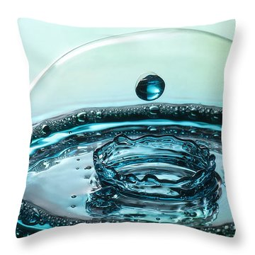 Throw Pillow featuring the photograph Protecting The Crown by Vickie Szumigala