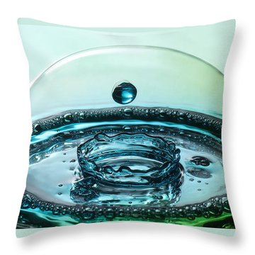 Protecting The Crown Throw Pillow