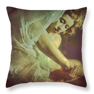 Protection - A Body Performance Throw Pillow