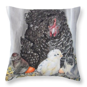 Protective Mom Throw Pillow