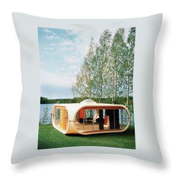 Prototype Of Polykem Molded House Throw Pillow