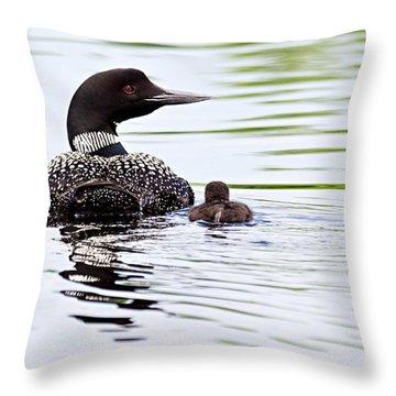 Proud Parent Throw Pillow