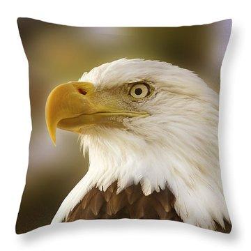 Proud Symbol Of A Nation  Throw Pillow
