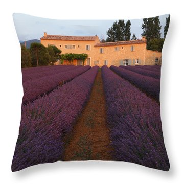 Provencal Villa  Throw Pillow