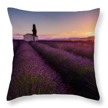 Provence Landscape Throw Pillows