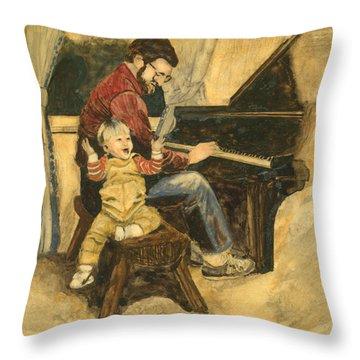 Proverbs Fourteen Twentysix Throw Pillow by Tanya Provines