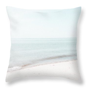 Provincetown From Ryder Beach Throw Pillow
