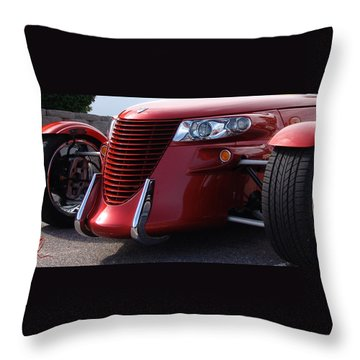 Throw Pillow featuring the photograph Prowler  by Chris Thomas