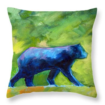Prowling Throw Pillow