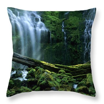 Proxy Falls Throw Pillow
