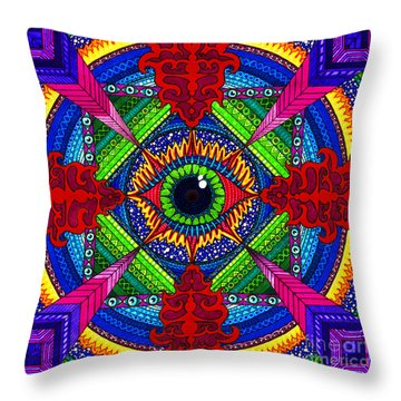 Pry It Open Throw Pillow