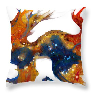 Psalm 8 1-3 God Of Wonders Throw Pillow by Mark Lawrence