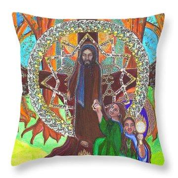 Psalm Fourty Nine Throw Pillow by Hidden  Mountain