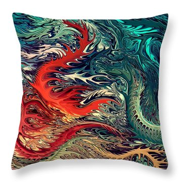 Psar-2 By Rafi Talby Throw Pillow by Rafi Talby