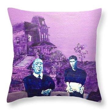 Psycho Set Throw Pillow