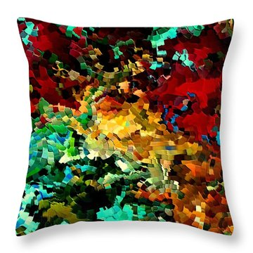 Puddle By Rafi Talby Throw Pillow by Rafi Talby