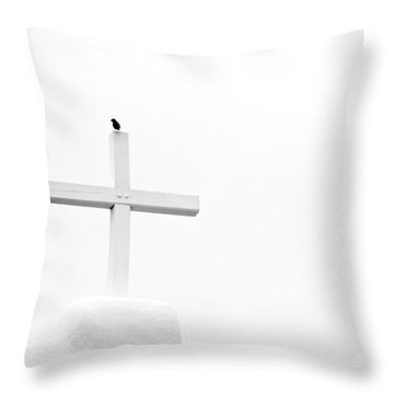 Pueblo Cross Throw Pillow