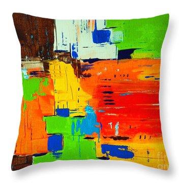 Pueblo Throw Pillow by Everette McMahan jr