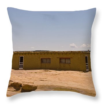 Pueblo Home Throw Pillow