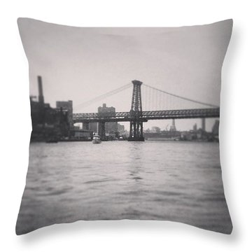 Puentecito Throw Pillow