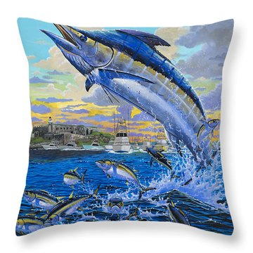 Puerto Rico Ibt 2013 Off00144 Throw Pillow by Carey Chen