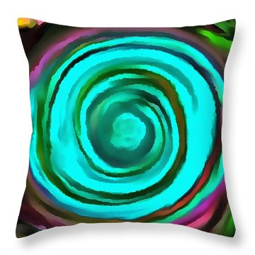 Pulled Throw Pillow by Catherine Lott