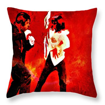 Pulp Fiction Dance 2 Throw Pillow