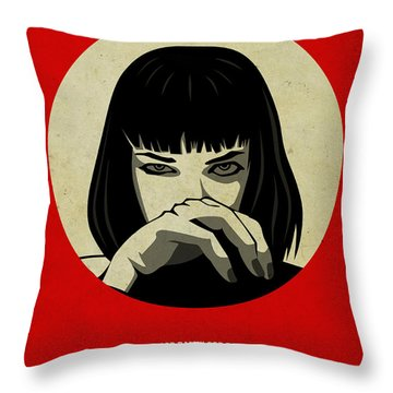 Pulp Fiction Poster Throw Pillow