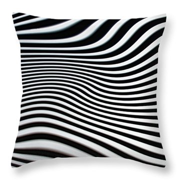 Pulsating Throw Pillow