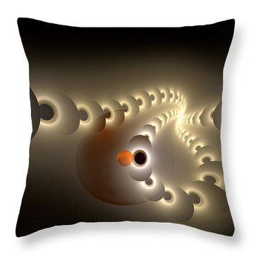 Pulse Eject Throw Pillow