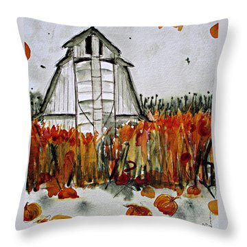 Pumpkin Dreams Throw Pillow