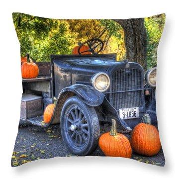 Pumpkin Hoopie Throw Pillow