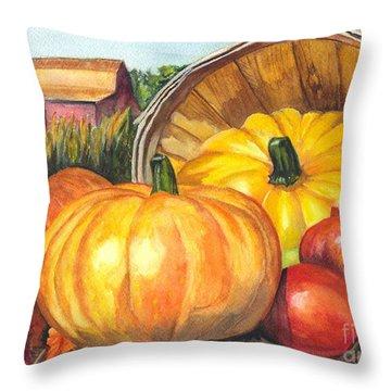 Pumpkin Pickin Throw Pillow